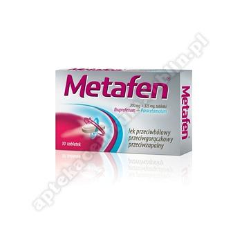 Metafen tabl.powl. 0,2g+0,325g 10tabl.