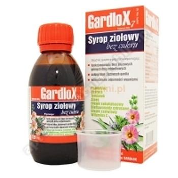 Gardlox 7 Syrop zioł. b/cukru 120 ml