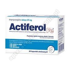 ActiFerol Fe 30 mg kaps. 30 kaps.