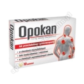 Opokan (Meloxicam) tabl. 7,5mg 10tabl.