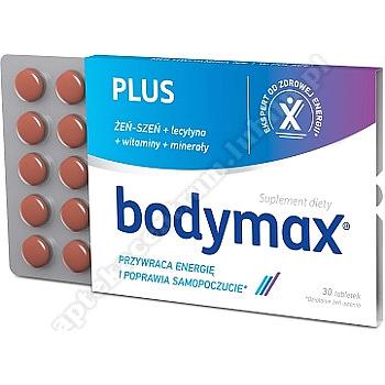 Bodymax Plus 30 tabletek -listek z opakowania x 600tabl.-kuracja 1 miesiąc