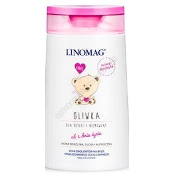 LINOMAG Oliwka dla dzieci i niemowląt 200 ml