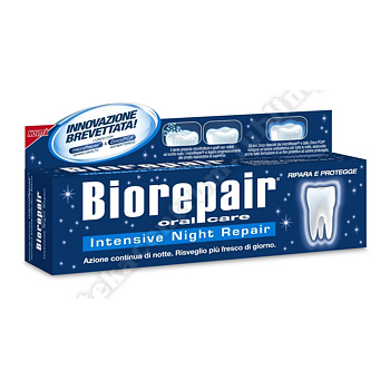 BIOREPAIR NIGHT Pasta do zębów intensywna pielęgnacja 75ml