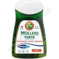 Mollers Forte 112 kapsułek+Gra Rodzinna Alfa i Omega GRATIS