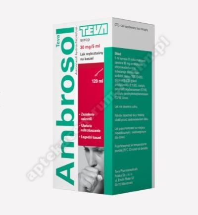 Ambrosol syrop 30mg/5ml 120 ml