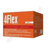 4 FLEX 30 saszetek+Omega cardio+ czosnek x 60 kaps