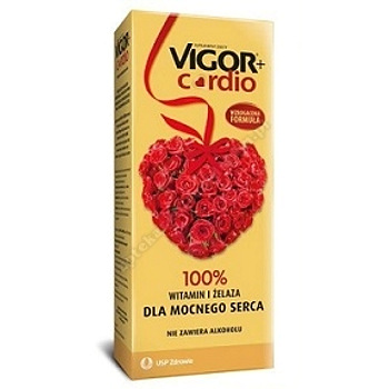 Vigor+ Cardio tonik b/alkoh.  1000 ml