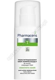 PHARMACERIS T SEBOSTATIC DZIEŃ Krem matujący SPF20 50ml