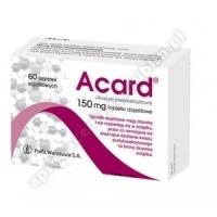 Acard 150mg 60 tabletek dojelitowych