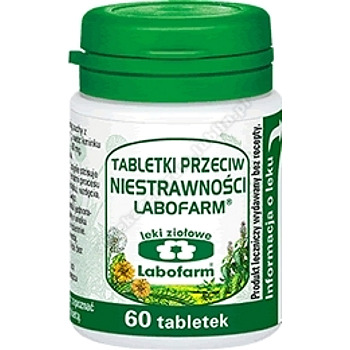 Tabletki przeciw niestrawności x 90 tabl.