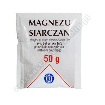 Magnezu siarczan subst. 50 g(sól gorzka)