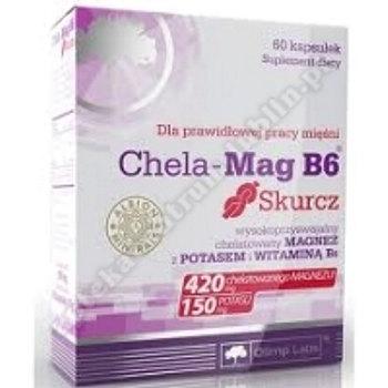 Olimp Chela-Mag B6 Skurcz kaps. 60 kaps