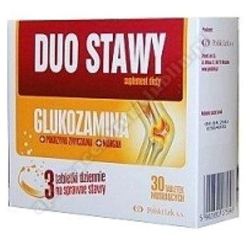 Duo Stawy MaxiFlex Glukozamina x 30 tabletek musujących