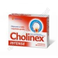 Cholinex Intense sm.jeżynowy (Cholisept Intense)20 tabl.