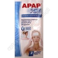 APAP ICE Plaster chłodzący żelowy 2 plast.