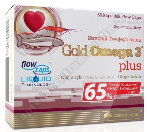 OLIMP Gold Omega 3 plus x 60 kaps. (blist.)