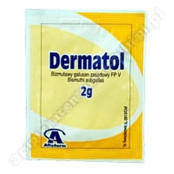 Dermatol subst. 2 g
