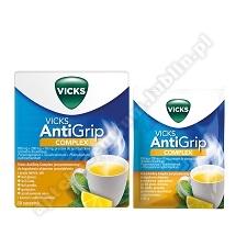 Vicks SymptoMed Complete Cytrynowy pr. x 10 sasz.