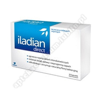 Iladian direct plus x 10 kaps.dopochw.