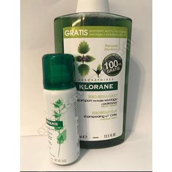 KLORANE pokrzywa szampon 400ml