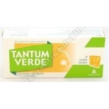 Tantum Verde smak miodowo-pomarańcz. pasty 20 pastyl.