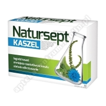 Natur-Sept Kaszel past.dossania 18pastyl.