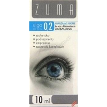 ZUMA ULGA 0,2% dla oczu Krople z hialuronianem 10ml