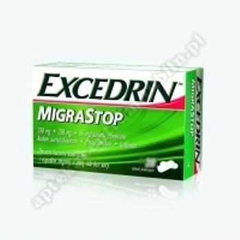 Excedrin Migra Stop tabl.powl. 0,25g+0,25g 10 tabl.