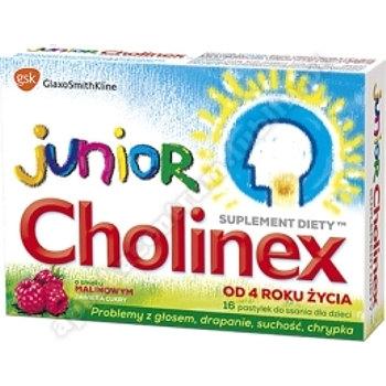 Cholinex Junior pastyl.dossania 16pastyl.