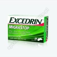 Excedrin Migra Stop tabl.powl. 0,25g+0,25g x 20 tabl.