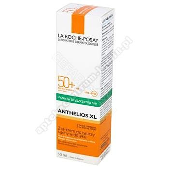 LA ROCHE ANTHELIOS SPF50+ żel-krem suchy w dotyku 50mlk