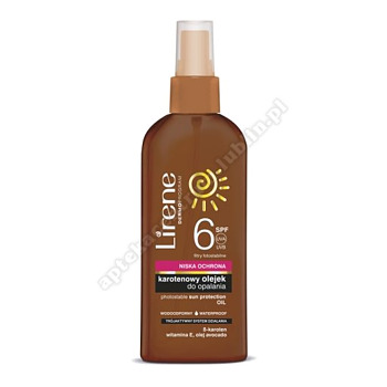 LIRENE Olejek do opalania SPF6 150ml