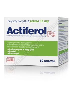 Actiferol Fe 15 mg x 30 saszetek