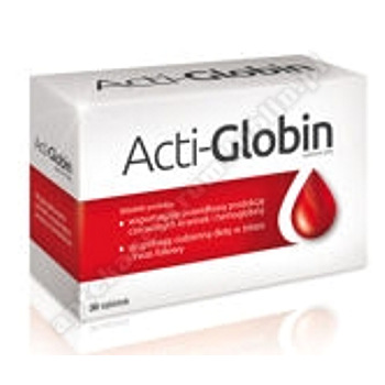 Acti-Globin x 30 tabletek data waż.31.12.2020