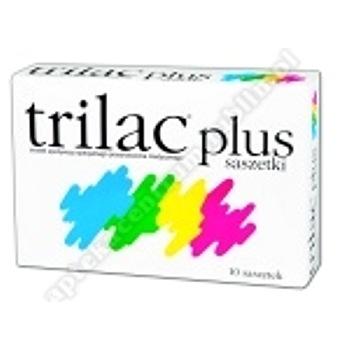 Trilac plus saszetki 10 sasz.