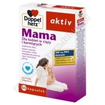 Doppelherz aktiv Mama Dla kobiet w ciąży i karmiących 60kaps.