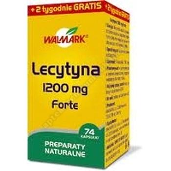 Lecytyna Forte 1200mg  x 74 kaps. (WALMARK)