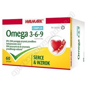 Omega 3-6-9 Kompoz.z oleju ryb, lnu i ogórków 60 kaps.(2x30)