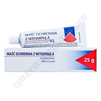 Maść ochronna z witaminą A 800j.m./g 25g