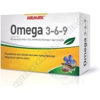 Omega 3-6-9 Kompoz.z oleju ryb, lnu i ogór. 30 kaps.