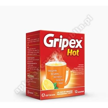 Gripex Hot 12 saszetek