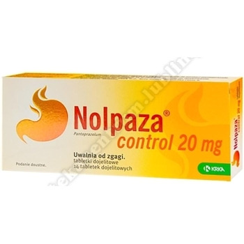 Nolpaza control tabletki dojelitowe 0,02g 14tabl
