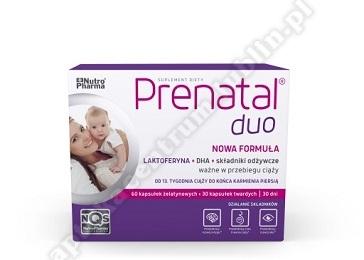Prenatal DUO (Classic 30 tabl. + DHA 60 kaps.)