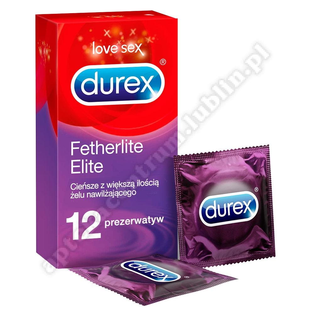 DUREX Fetherlite Elite prezerwatywy x 12 sztuk+breloczek do kluczy