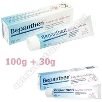 Bepanthen Baby maść ochronna 100g+Bepanthen maść 30g