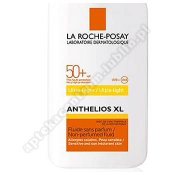 LA ROCHE ANTHELIOS XL 50+ ultra lekki fluid do twarzy 50ml