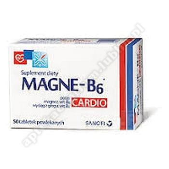 Magne B6 Cardio tabl.powl. 50 tabl.