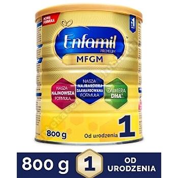 ENFAMIL 1 PREMIUM MFGM 0-6 mcy Mleko modyfikowane w proszku - 800 g