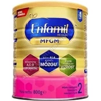 ENFAMIL 2 Premium MFGM, mleko następne w proszku, po 6 miesiącu, 800g
