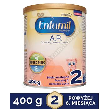 Enfamil Premium A.R 2 mleko modyfikowane w proszku 400 g na ulewanie
